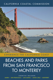 Book Cover of Beaches and Parks from San Francisco to Monterey