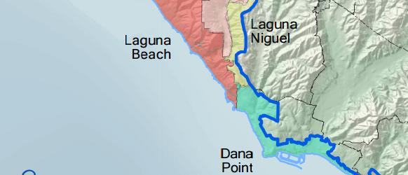 Maps California Coastal Map on